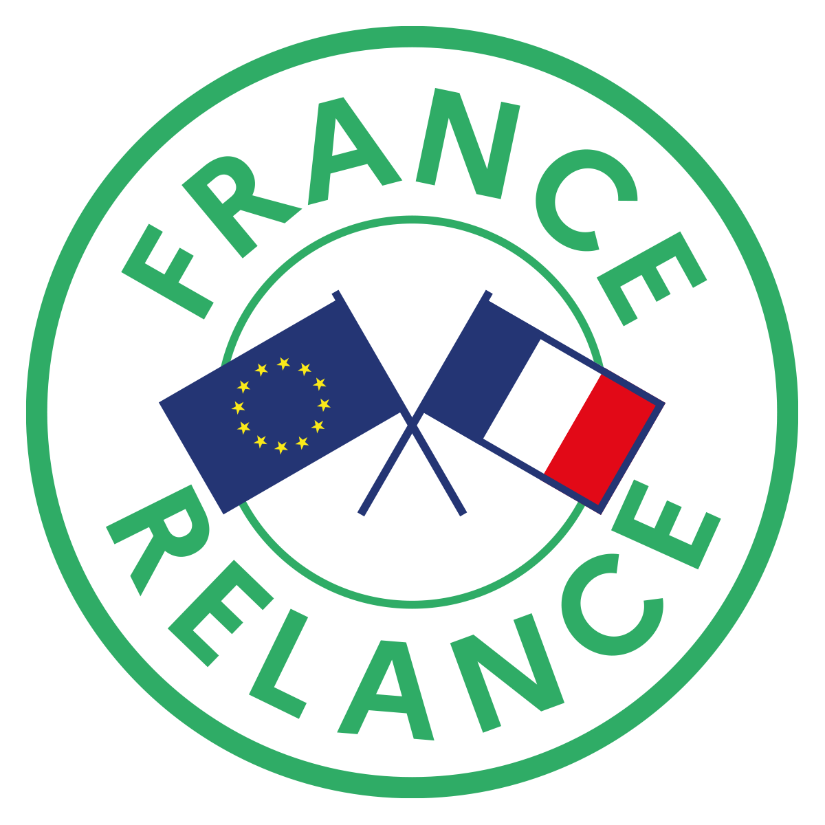 Logo : France Relance pour la région Bretagne