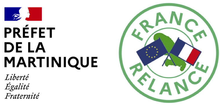 Logo : France Relance Martinique